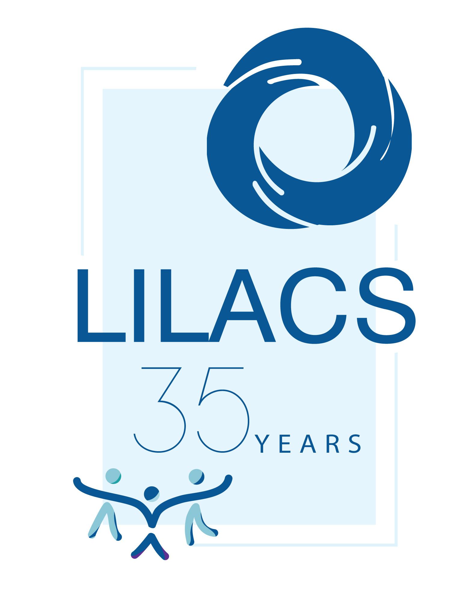 Commemorative logo LILACS 35 years