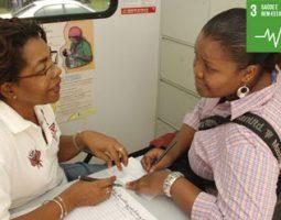 Acesso universal a serviços de saúde relacionados com a saúde sexual e reprodutiva