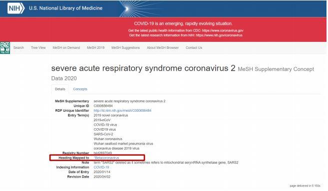 severe acute respiratory syndrome coronavirus 2