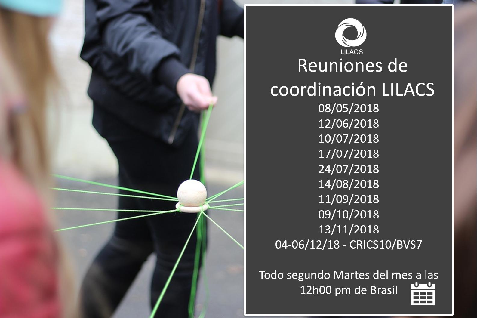 Reuniones de Coordinación LILACS 2018