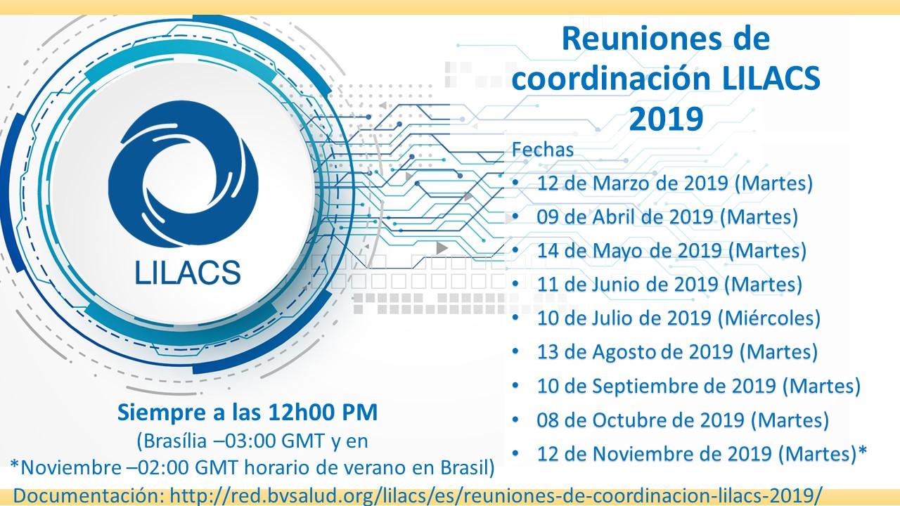 Reuniones de Coordinación LILACS 2019