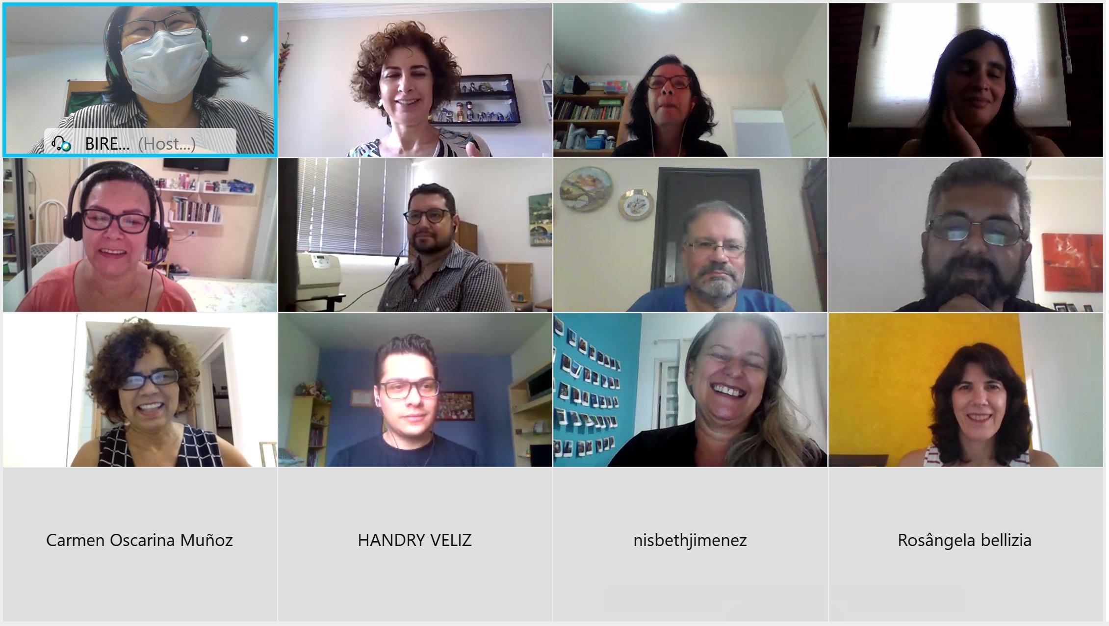 Participantes da 1. Reunião da Rede de Indexadores LILACS