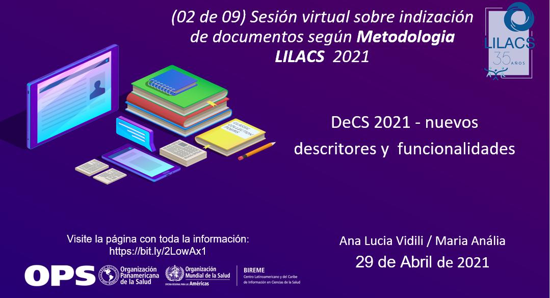 II sesión de indización 2021