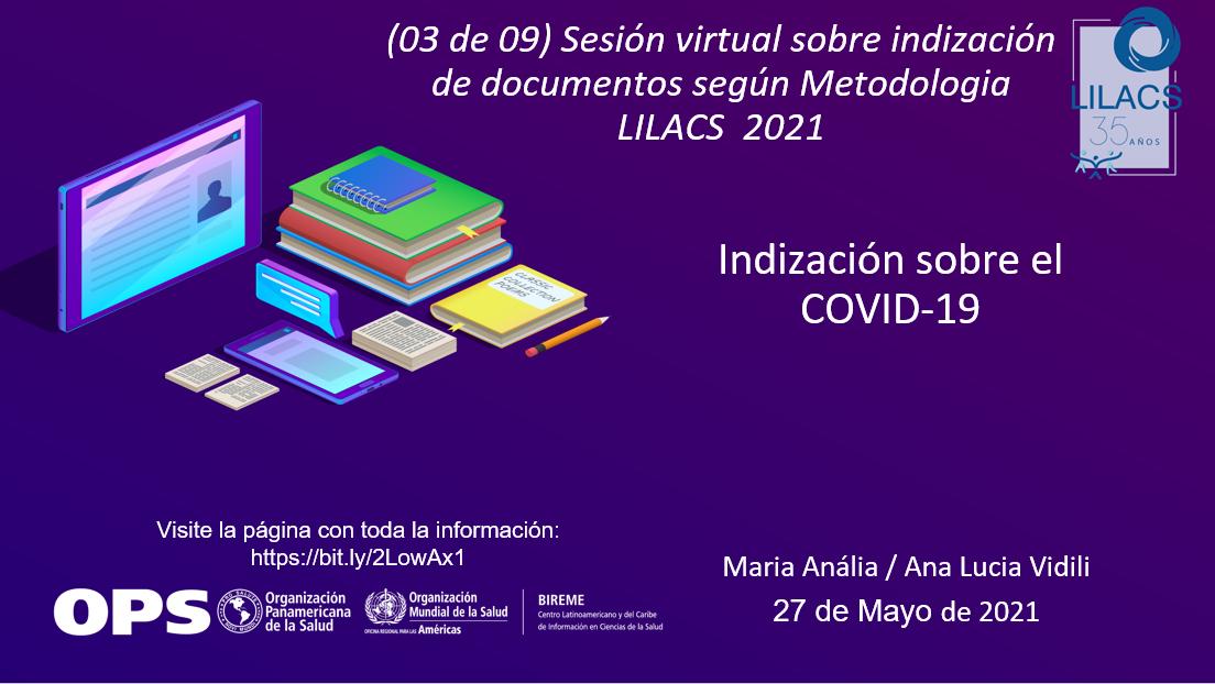 Indización de documento COVID-19